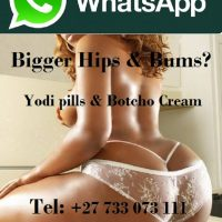 Botcho cream & Yodi Pills for Bigger Bums & Hips +